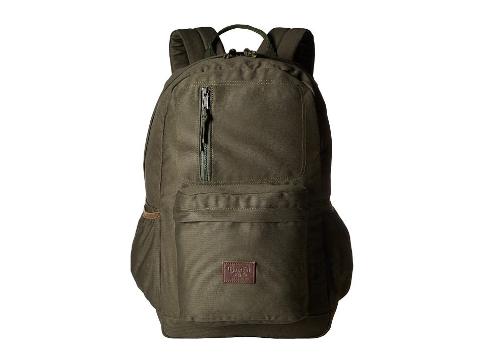 Brixton Bellows Backpack (Olive) Backpack Bags