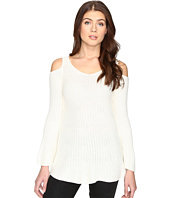CATHERINE Catherine Malandrino - Long Sleeve Cold Shoulder Sweater