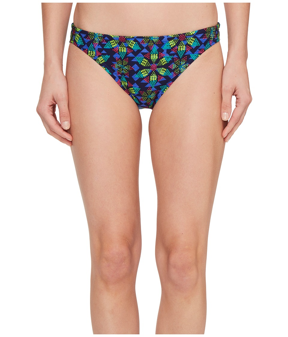 TYR Edessa Lula Bikini Bottom (Navy/Multi) Women