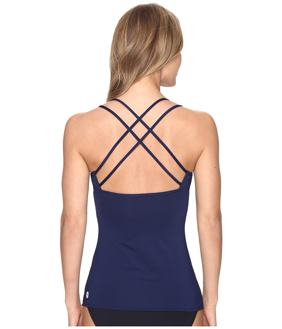 TYR Brooke Tank Top (Navy) Women