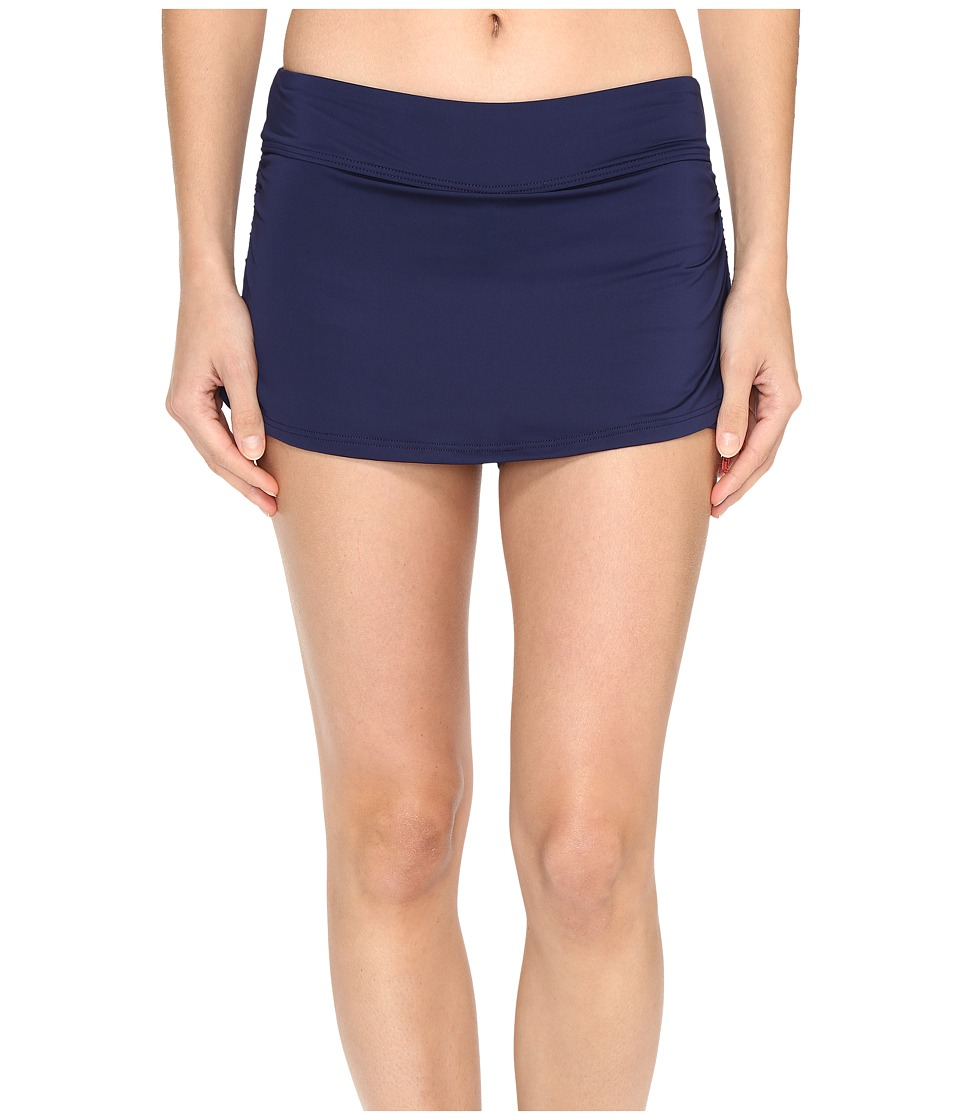 TYR Solids Active Mini Skorts (Navy) Women