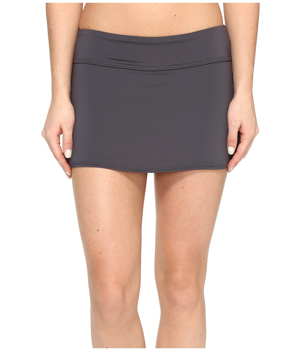 TYR Solids Active Mini Skorts (Grey) Women