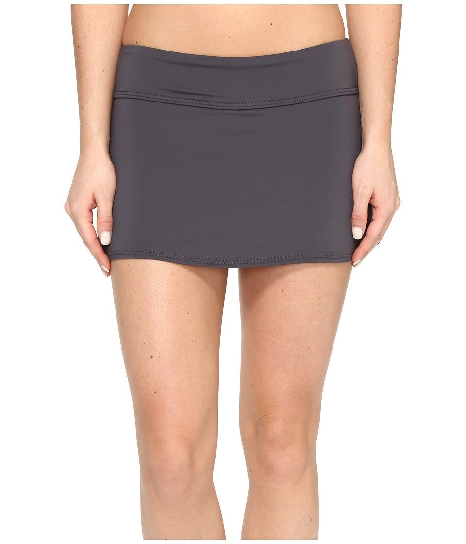 TYR Solids Active Mini Skorts (Grey) Women