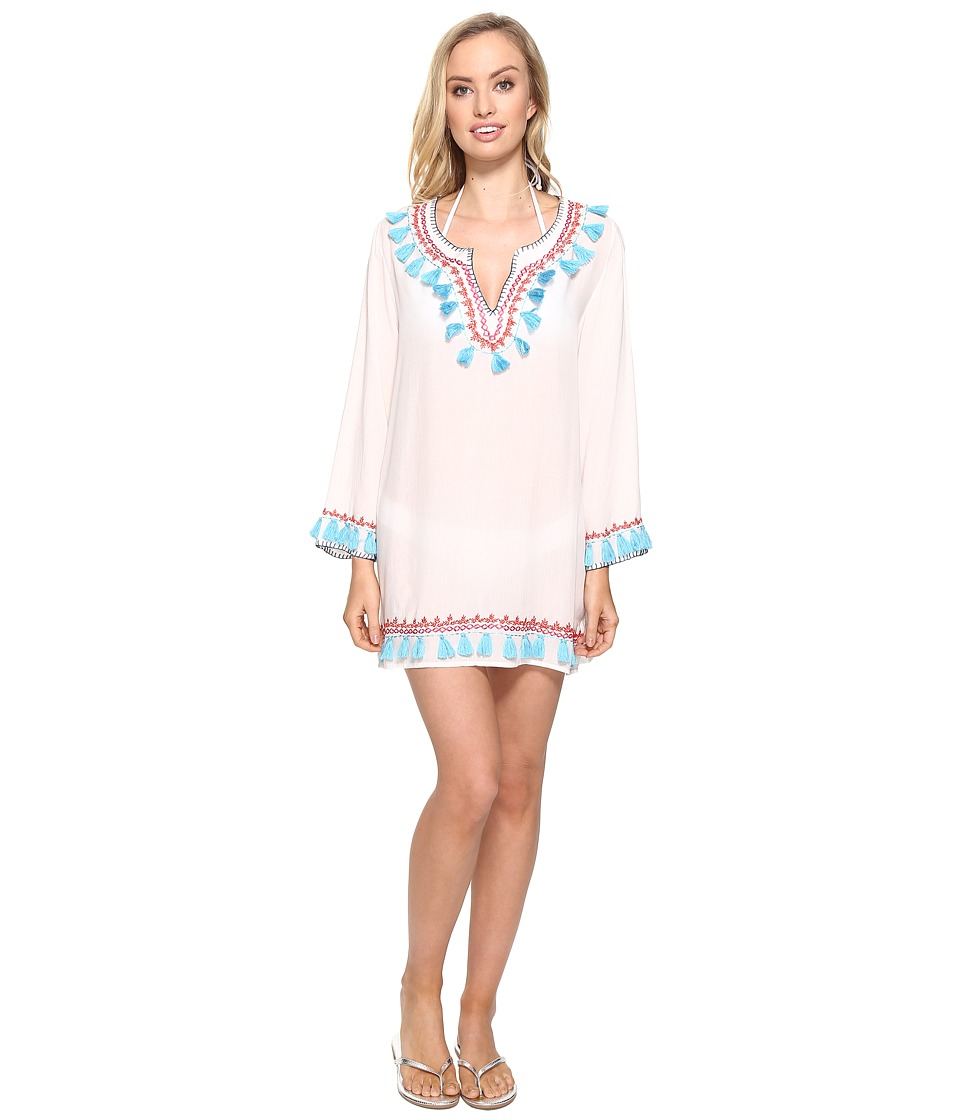 Bindya Bindya - Boho Tassels Long Sleeve Tunic