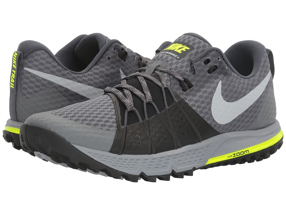 Nike - Air Zoom Wildhorse 4 (Dark Grey/Wolf Grey/Black/Stealth) Mens Running Shoes