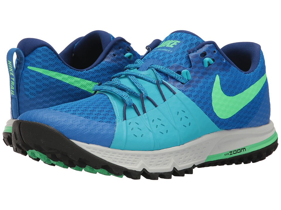 Nike Air Zoom Wildhorse 4 (Soar/Electro Green/Chlorine Blue) Men