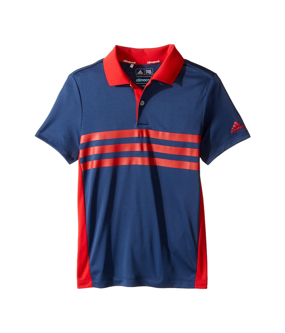 adidas Golf Kids - 3-Stripes Chest Print Polo