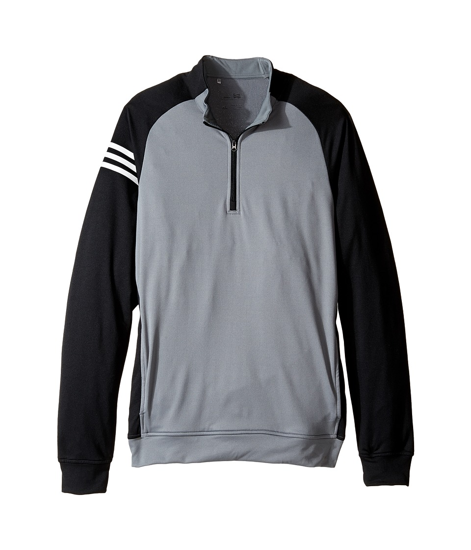 adidas Golf Kids - 3-Stripes Layering Full Zip Pullover