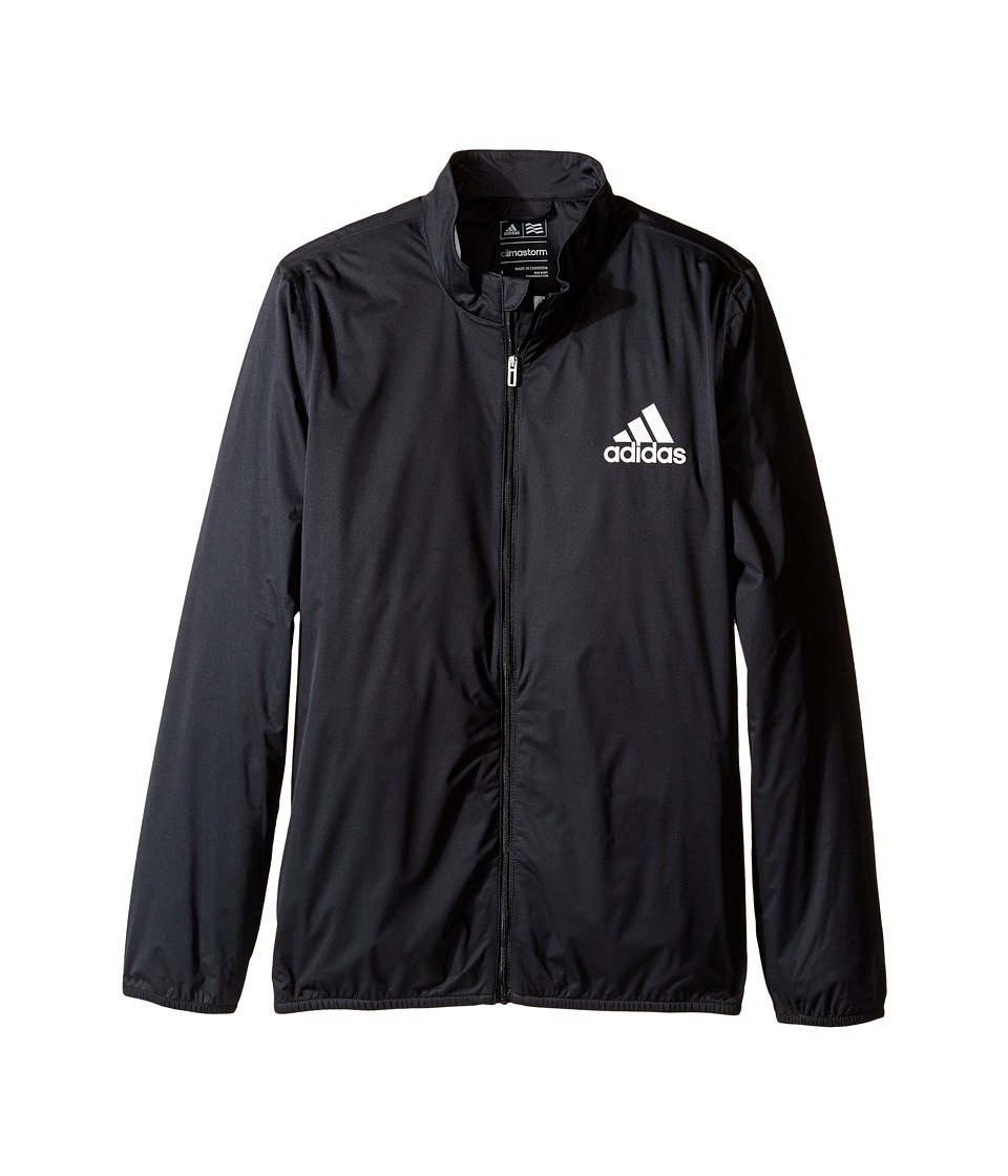 adidas Golf Kids Provisional Rain Jacket (Big Kids) (Black) Boy