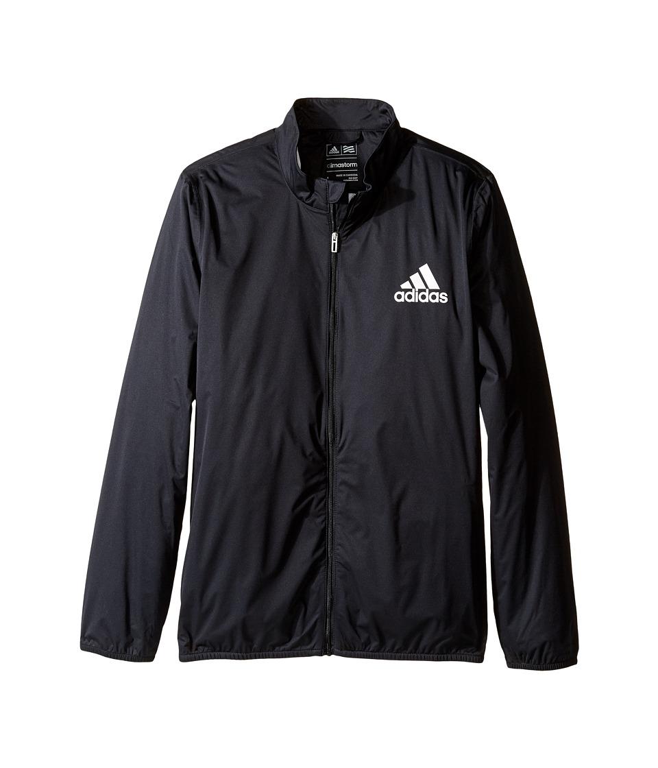 adidas Golf Kids - Provisional Rain Jacket (Big Kids) (Bl...