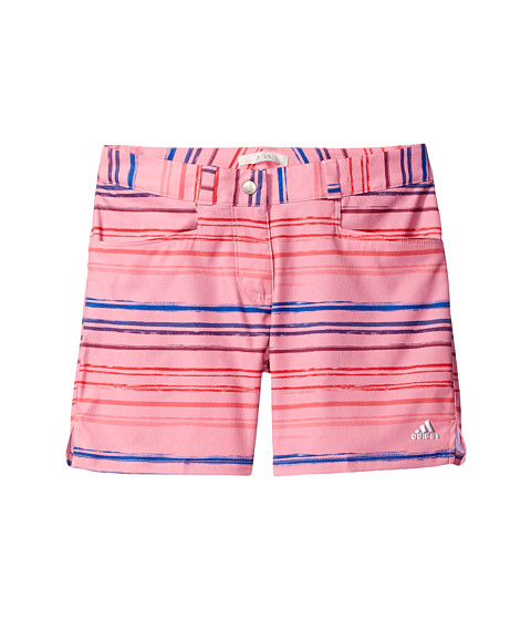 adidas Golf Kids Paint Stripe Shorts (Big Kids)