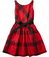 Polo Ralph Lauren Kids - Poly Taffeta Plaid Fit and Flare Dress (Big Kids)