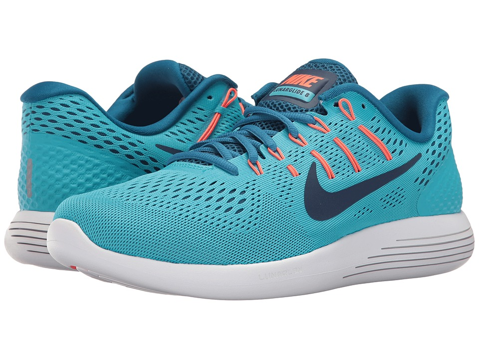 Nike - Lunarglide 8 (Chlorine Blue/Binary Blue) Mens Running Shoes