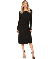 Three Dots - Whitney B. - Long Sleeve Twist Dress