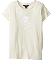 Polo Ralph Lauren Kids - Enzyme Jersey Short Sleeve Graphic Tee (Little Kids/Big Kids)