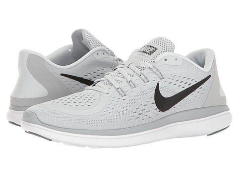 Nike Flex RN 2017 - Pure Platinum/Black/Wolf Grey/Cool Grey