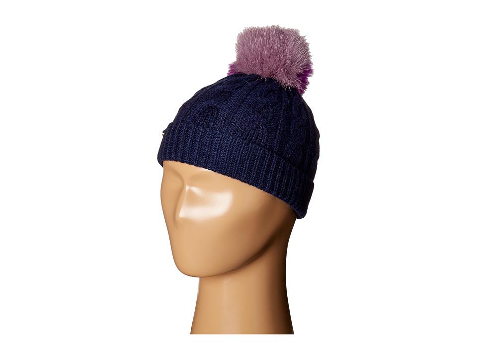 Burberry Kids - PPM Cable Knit Hat (Little Kids/Big Kids)...