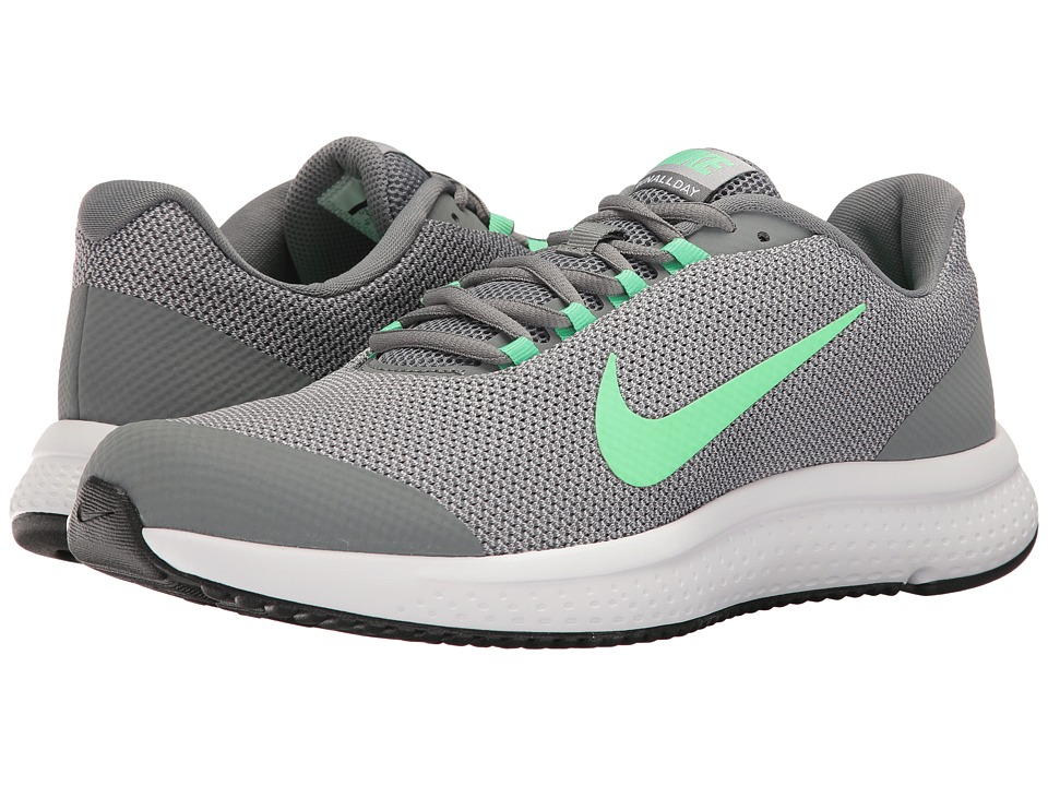 Nike - RunAllDay (Anthracite/Electro Green/White/Cool Grey) Mens Running Shoes