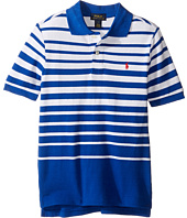 Polo Ralph Lauren Kids - Yarn-Dyed Mesh Short Sleeve Shirt (Little Kids/Big Kids)