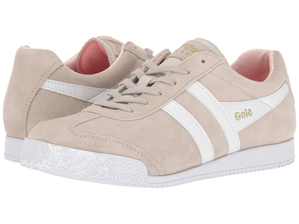 Gola Harrier (Paloma/White/Rose) Women's Shoes