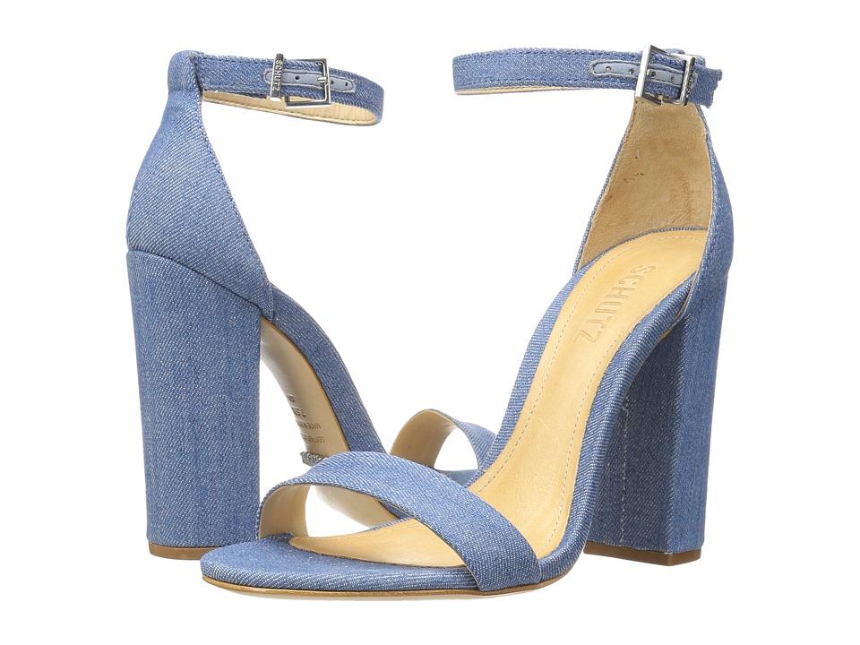 Schutz Enida (Blue) High Heels