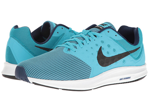 Nike Downshifter 7 - Chlorine Blue/Black/Binary Blue/White