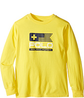 Polo Ralph Lauren Kids - Basic Jersey Graphic T-Shirt (Little Kids/Big Kids)