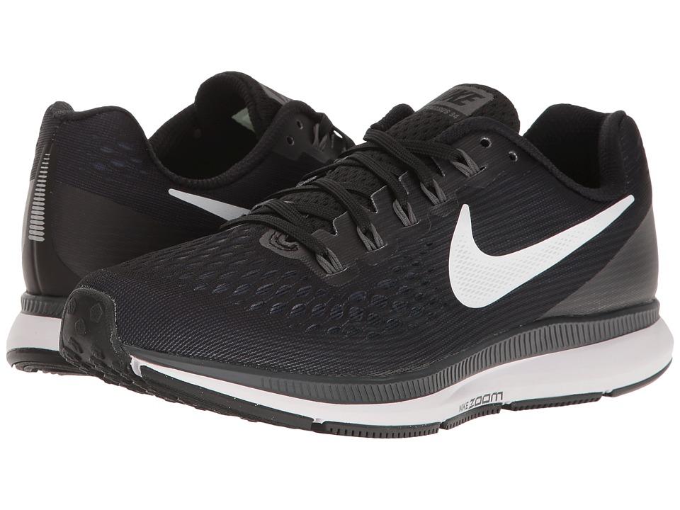 Nike Air Zoom Pegasus 34 (Black/White/Dark Grey/Anthracit...
