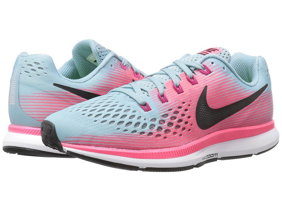 Nike Air Zoom Pegasus 34 (Mica Blue/White/Racer Pink/Spor...