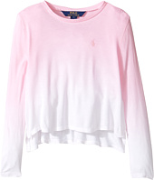 Polo Ralph Lauren Kids - Lux Jersey Dip-Dye Top (Little Kids)