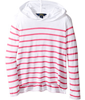Polo Ralph Lauren Kids - Jersey Stripe Hoodie (Little Kids)