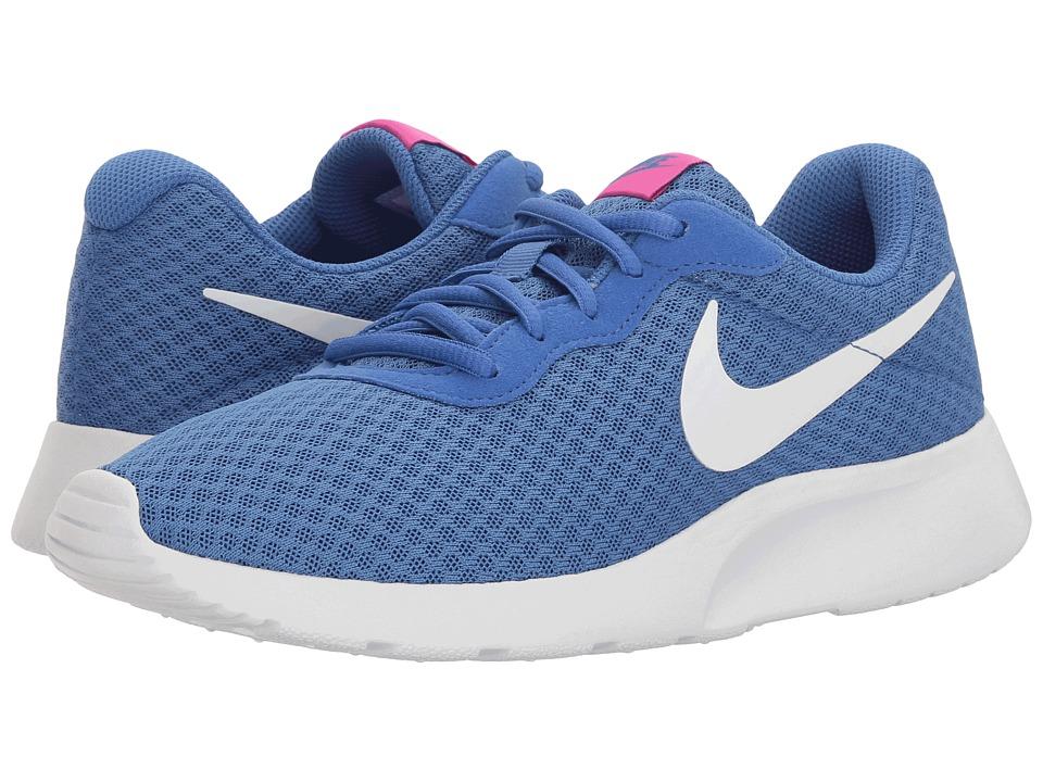 Nike - Tanjun (Solar/White/Chlorine Blue) Womens Running Shoes