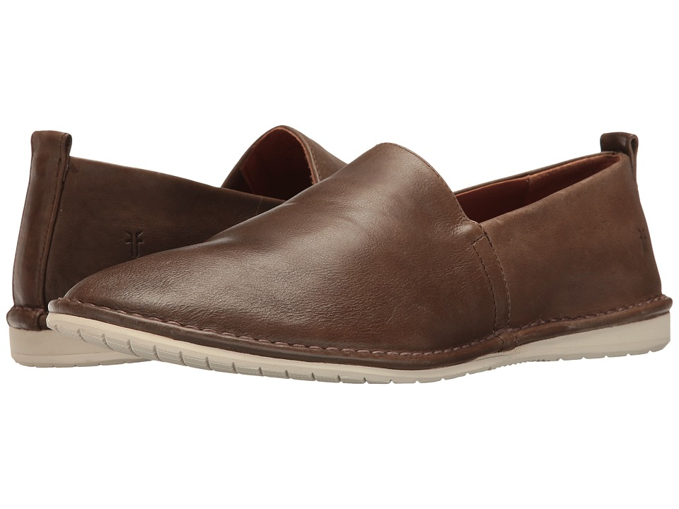 Frye Kyle Slip-On (Charcoal Smooth Antique Pull Up) Men