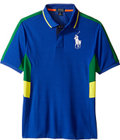Polo Ralph Lauren Kids - Tech Mesh Pieced Polo (Big Kids)