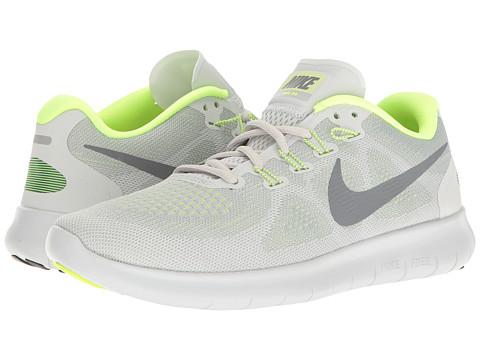 Nike Free RN 2017 - Wolf Grey/Cool Grey/Pure Platinum/Volt