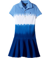 Polo Ralph Lauren Kids - Stretch Mesh Dip-Dye Dress (Little Kids)