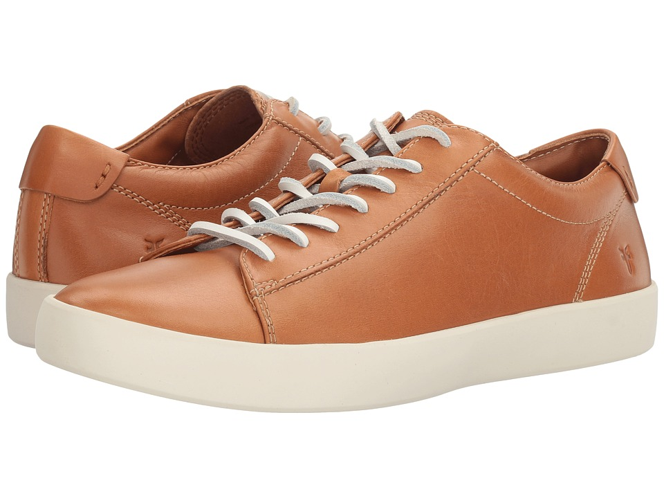 Frye Tanner Low Lace (Camel Smooth Full Grain) Men