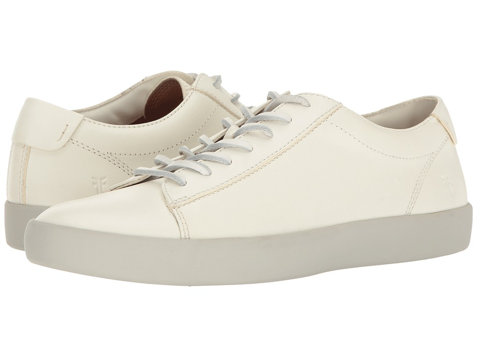 Frye Tanner Low Lace (White Smooth Full Grain) Men