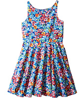 Polo Ralph Lauren Kids - Poly Twill Fit and Flare Dress (Big Kids)
