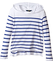 Polo Ralph Lauren Kids - Jersey Stripe Hoodie (Little Kids/Big Kids)