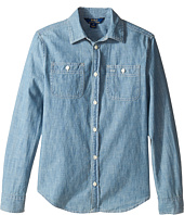 Polo Ralph Lauren Kids - Chambray Top (Big Kids)