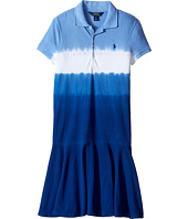 Polo Ralph Lauren Kids - Stretch Mesh Dip-Dye Dress (Little Kids/Big Kids)