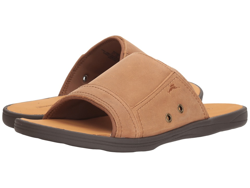 Tommy Bahama Seawell Slide (Tan) Men