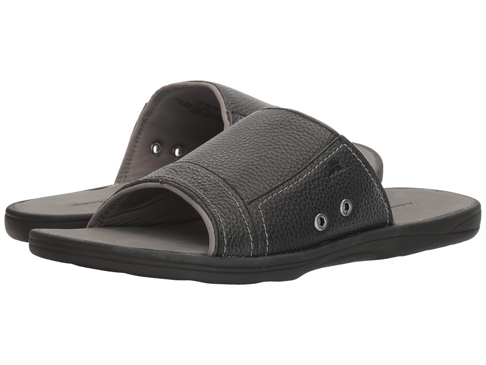 Tommy Bahama Seawell Slide (Black) Men