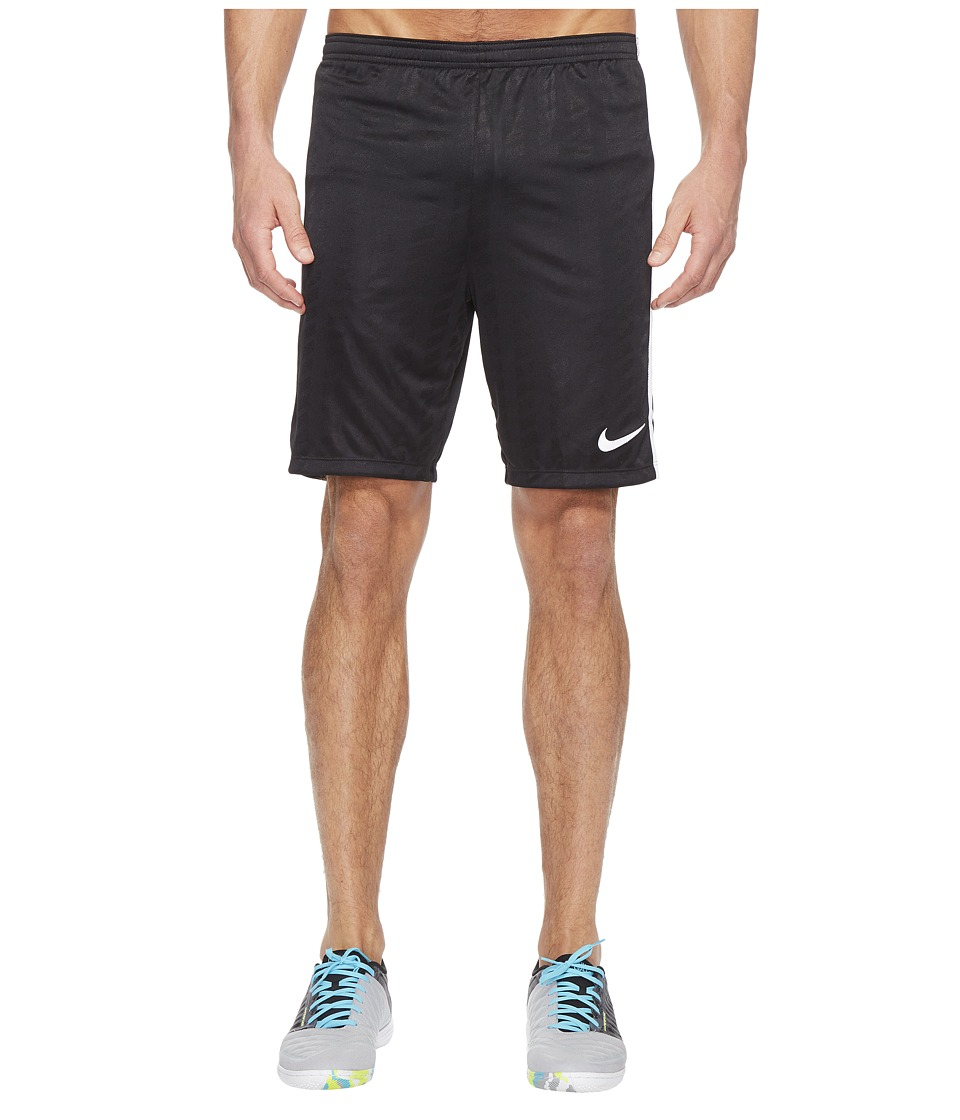 Nike Academy Soccer Short (Black/White/White/White) Men