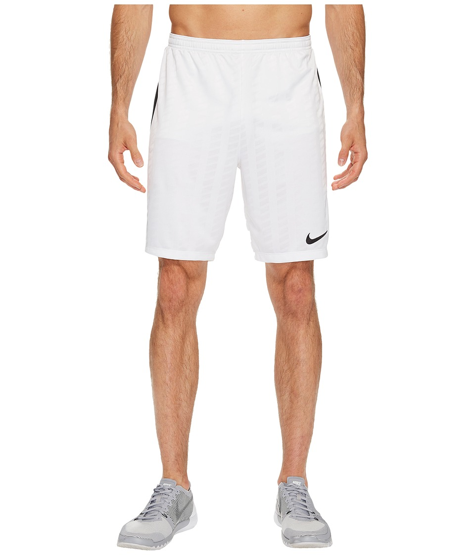 Nike Academy Soccer Short (White/Black/Black/Black) Men