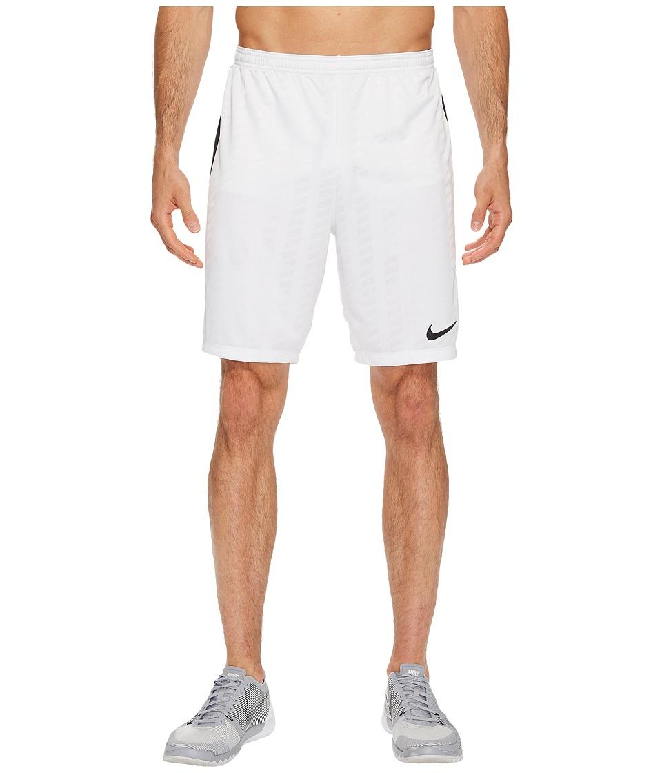 Nike Academy Soccer Short (White/Black/Black/Black) Men