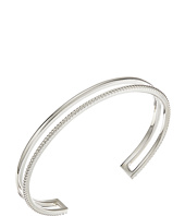 Shinola Detroit - Sterling Silver Coin Edge Cuff Bracelet