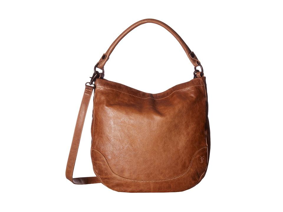 Frye - Melissa Hobo (Beige Antique Pull Up) Hobo Handbags