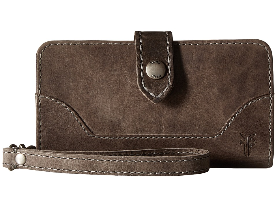 Frye - Melissa Phone Wallet (Ice Antique Pull Up) Bill-fold Wallet